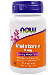 Мелатонин (Melatonin) now foods
