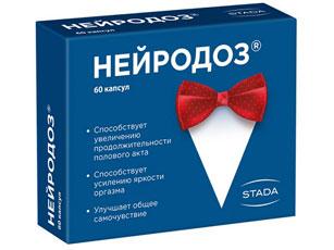 Препарат Нейродоз (NeiroDoz) для регуляции преждевременной эякуляции у мужчин